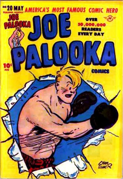Cover for Joe Palooka Comics (Harvey, 1945 series) #20