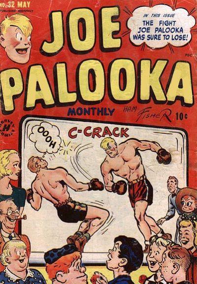 Cover for Joe Palooka Comics (Harvey, 1945 series) #32
