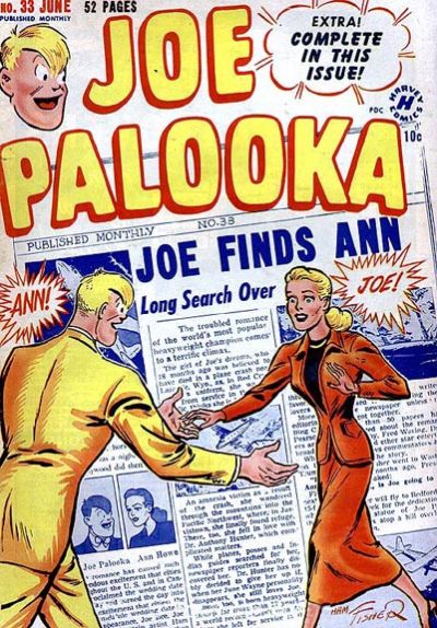 Cover for Joe Palooka Comics (Harvey, 1945 series) #33