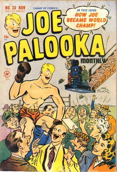 Cover for Joe Palooka Comics (Harvey, 1945 series) #38