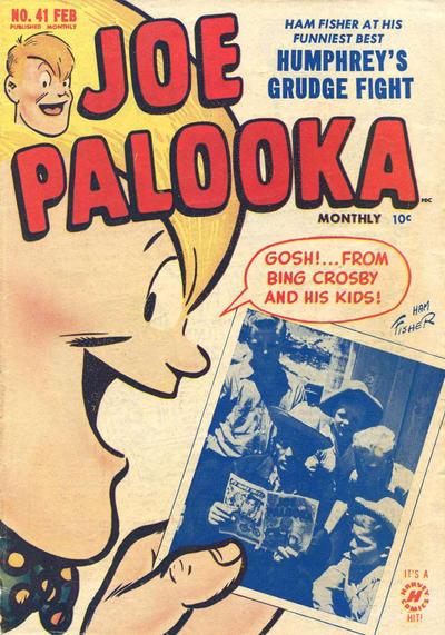 Cover for Joe Palooka Comics (Harvey, 1945 series) #41