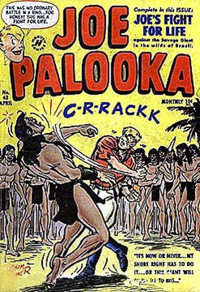 Cover for Joe Palooka Comics (Harvey, 1945 series) #43