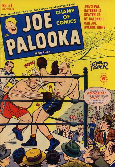 Cover for Joe Palooka Comics (Harvey, 1945 series) #51