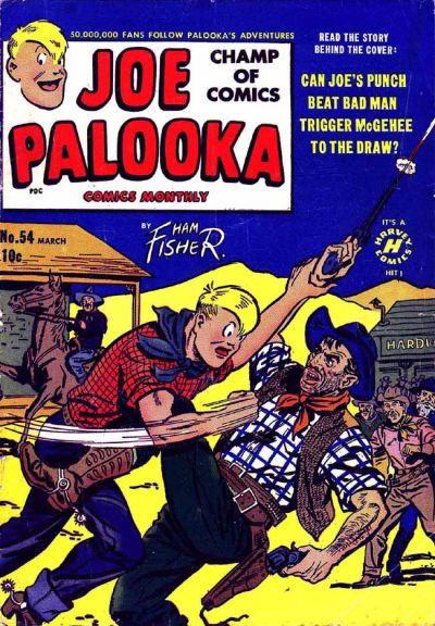 Cover for Joe Palooka Comics (Harvey, 1945 series) #54