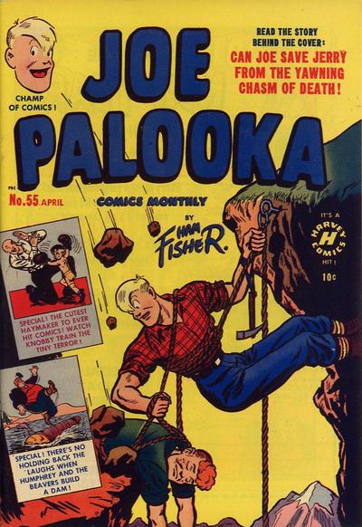 Cover for Joe Palooka Comics (Harvey, 1945 series) #55