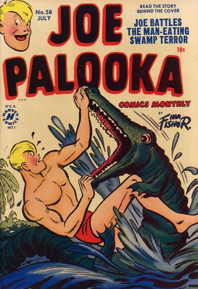 Cover for Joe Palooka Comics (Harvey, 1945 series) #58