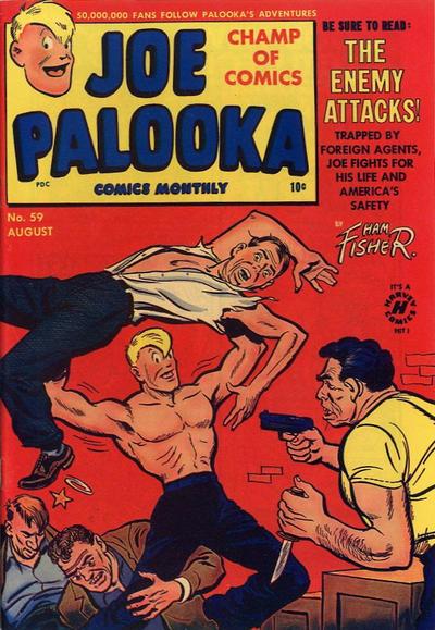 Cover for Joe Palooka Comics (Harvey, 1945 series) #59