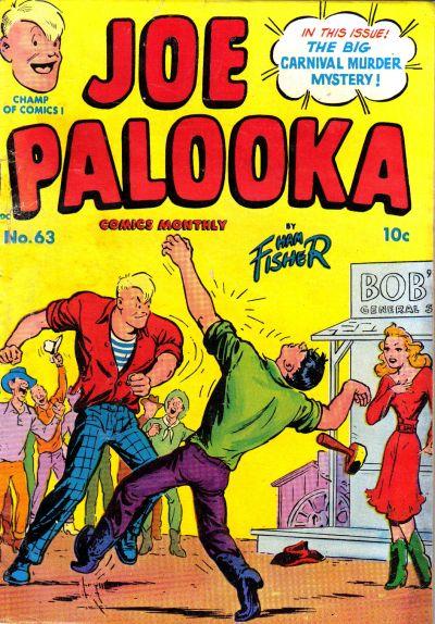Cover for Joe Palooka Comics (Harvey, 1945 series) #63