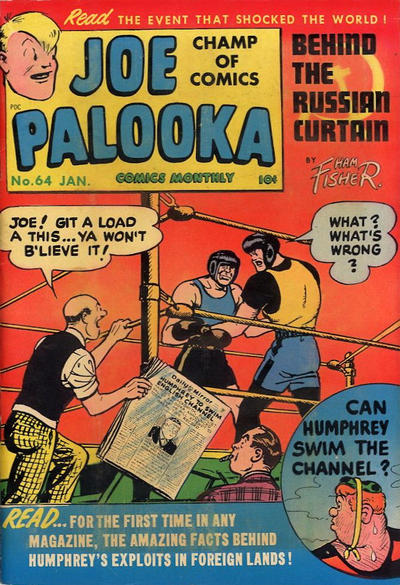Cover for Joe Palooka Comics (Harvey, 1945 series) #64