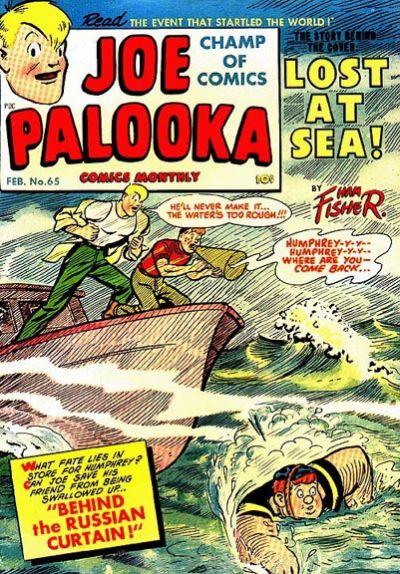 Cover for Joe Palooka Comics (Harvey, 1945 series) #65