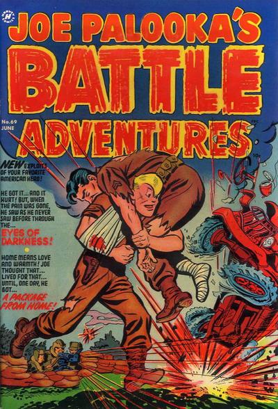 Cover for Joe Palooka Comics (Harvey, 1945 series) #69