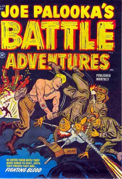 Cover for Joe Palooka Comics (Harvey, 1945 series) #70
