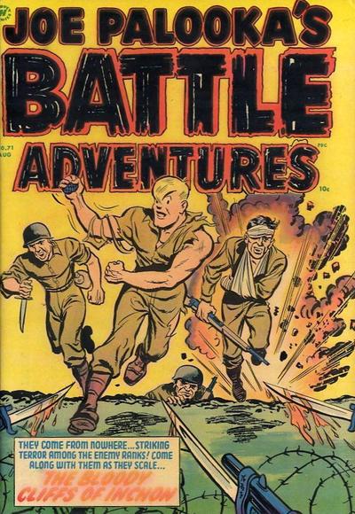 Cover for Joe Palooka Comics (Harvey, 1945 series) #71