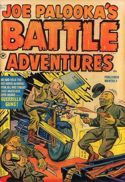 Cover for Joe Palooka Comics (Harvey, 1945 series) #73