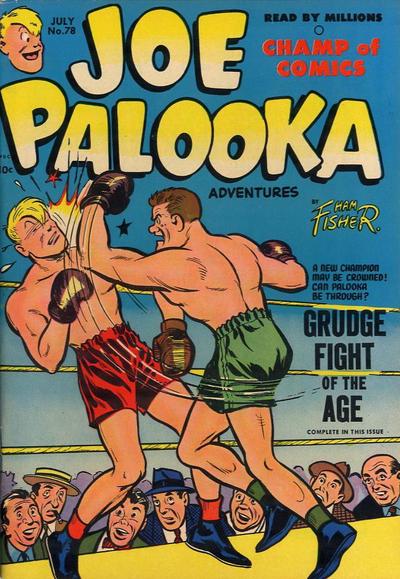 Cover for Joe Palooka Comics (Harvey, 1945 series) #78
