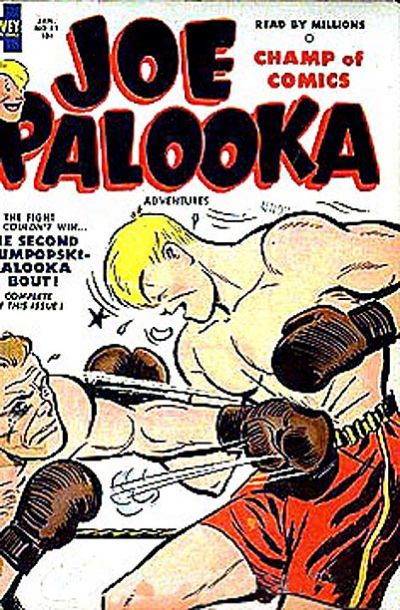 Cover for Joe Palooka Comics (Harvey, 1945 series) #81