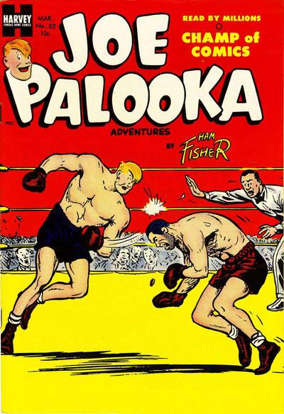 Cover for Joe Palooka Comics (Harvey, 1945 series) #82