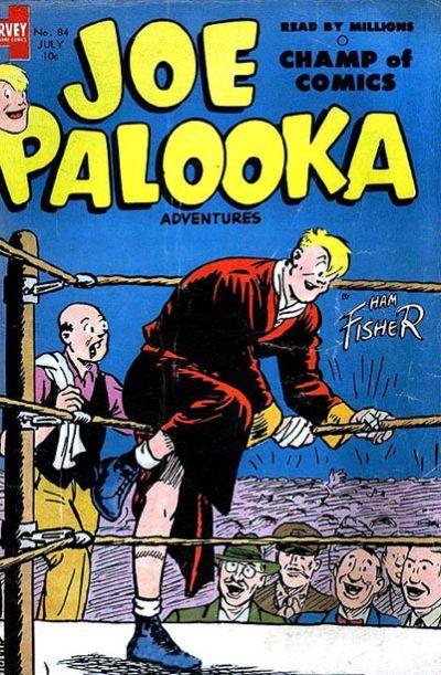 Cover for Joe Palooka Comics (Harvey, 1945 series) #84