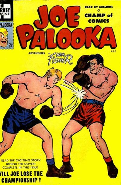 Cover for Joe Palooka Comics (Harvey, 1945 series) #87
