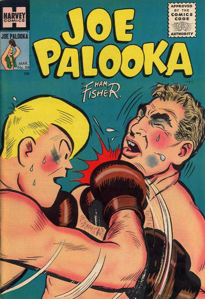 Cover for Joe Palooka Comics (Harvey, 1945 series) #88