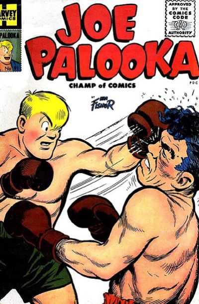 Cover for Joe Palooka Comics (Harvey, 1945 series) #91