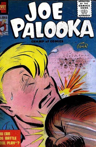 Cover for Joe Palooka Comics (Harvey, 1945 series) #92
