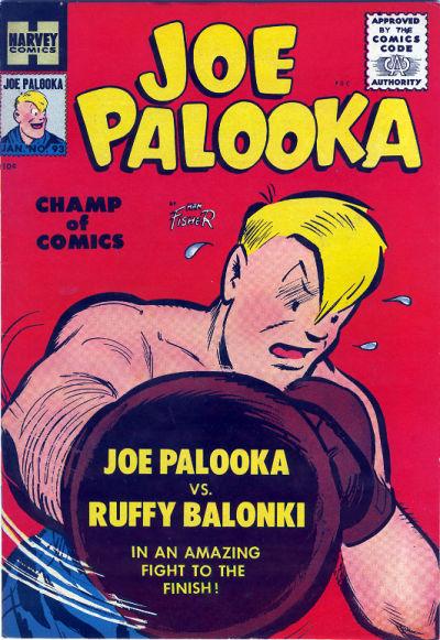 Cover for Joe Palooka Comics (Harvey, 1945 series) #93
