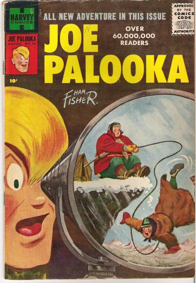 Cover for Joe Palooka Comics (Harvey, 1945 series) #96