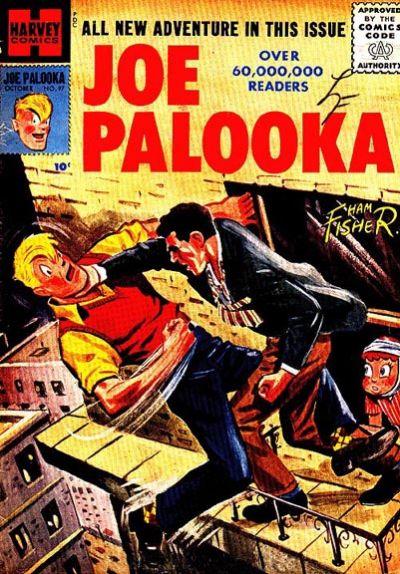 Cover for Joe Palooka Comics (Harvey, 1945 series) #97