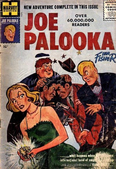 Cover for Joe Palooka Comics (Harvey, 1945 series) #99
