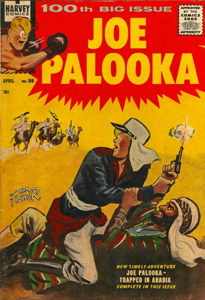 Cover for Joe Palooka Comics (Harvey, 1945 series) #100
