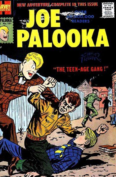 Cover for Joe Palooka Comics (Harvey, 1945 series) #101