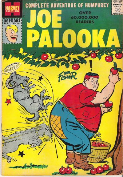 Cover for Joe Palooka Comics (Harvey, 1945 series) #103