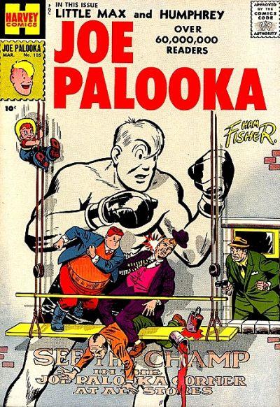 Cover for Joe Palooka Comics (Harvey, 1945 series) #105
