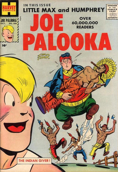 Cover for Joe Palooka Comics (Harvey, 1945 series) #108