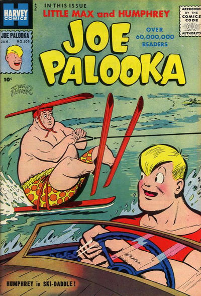 Cover for Joe Palooka Comics (Harvey, 1945 series) #109