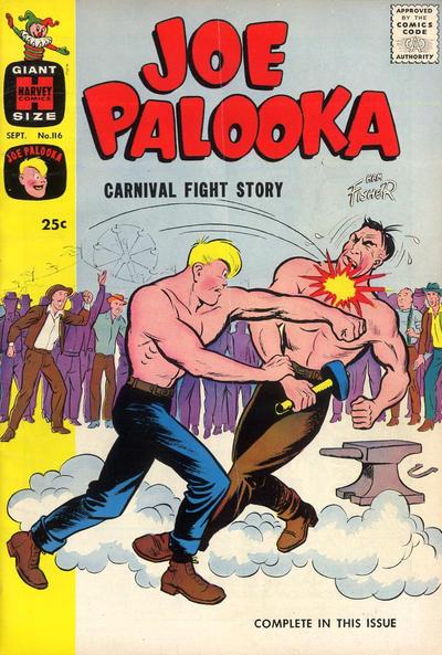 Cover for Joe Palooka Comics (Harvey, 1945 series) #116