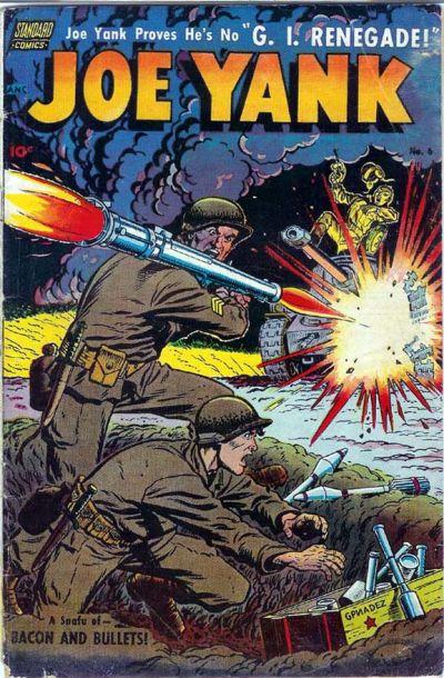 Cover for Joe Yank (Pines, 1952 series) #6