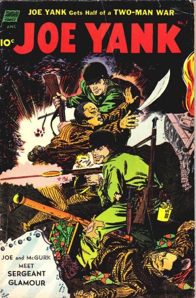 Cover for Joe Yank (Pines, 1952 series) #7