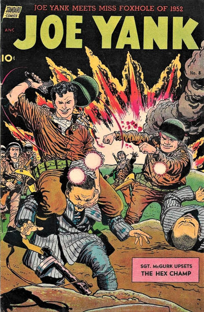Cover for Joe Yank (Pines, 1952 series) #8