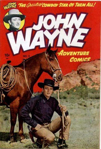 Cover for John Wayne Adventure Comics (Toby, 1949 series) #2