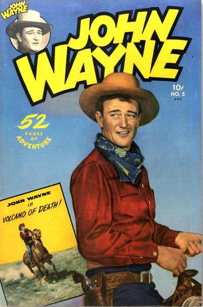Cover for John Wayne Adventure Comics (Toby, 1949 series) #5