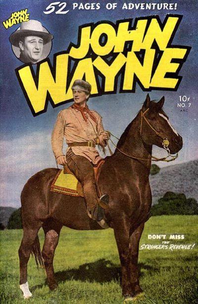 Cover for John Wayne Adventure Comics (Toby, 1949 series) #7