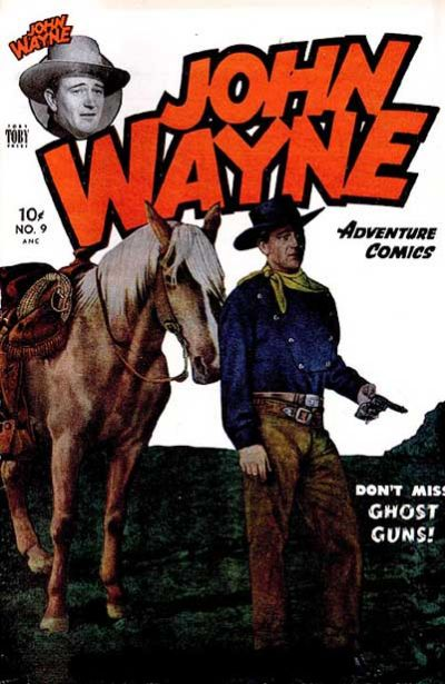 Cover for John Wayne Adventure Comics (Toby, 1949 series) #9