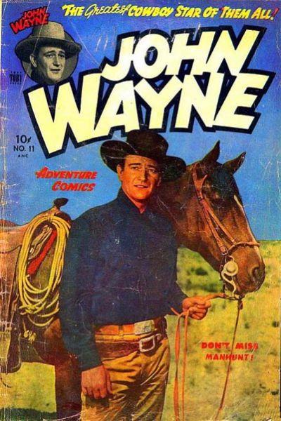 Cover for John Wayne Adventure Comics (Toby, 1949 series) #11