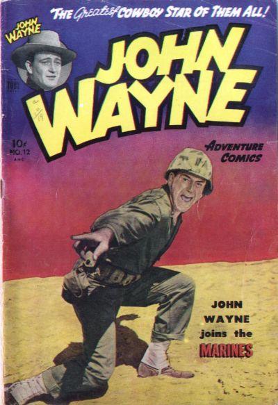 Cover for John Wayne Adventure Comics (Toby, 1949 series) #12