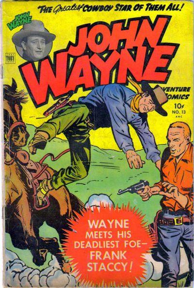 Cover for John Wayne Adventure Comics (Toby, 1949 series) #13