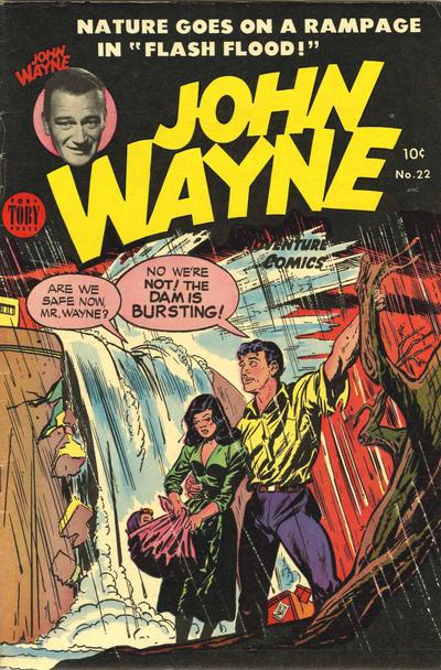 Cover for John Wayne Adventure Comics (Toby, 1949 series) #22