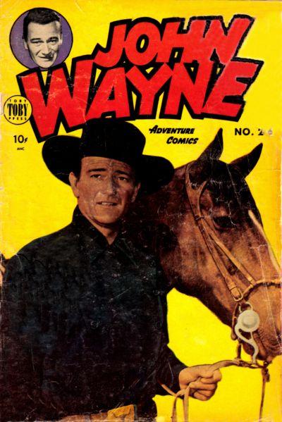 Cover for John Wayne Adventure Comics (Toby, 1949 series) #26