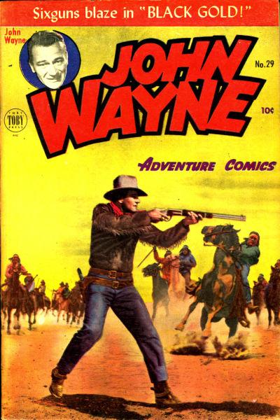 Cover for John Wayne Adventure Comics (Toby, 1949 series) #29